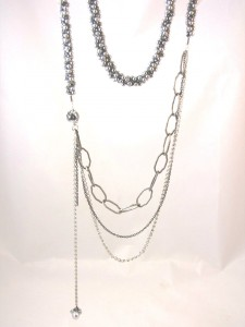 Kumihimo and Chain Necklace