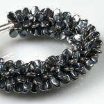 Kumihimo and Pip Bracelet by Preciosa
