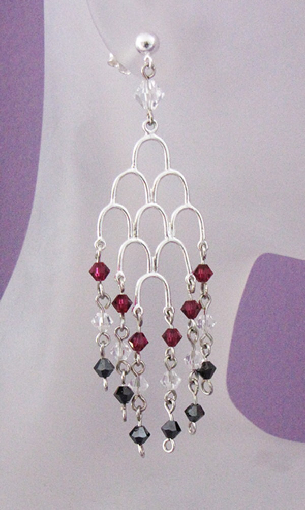 downton waterfall earrings - Earring Design Ideas