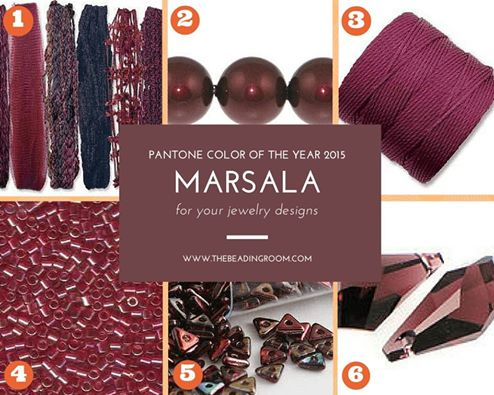 Marsala at The Beading Room
